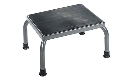 Brandt 16002 Standard Step Stool, Chrome Plated Steel