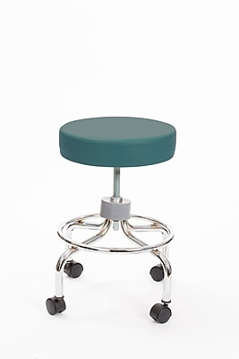 Brandt 22211 Revolving Stool with Footrest, Teal