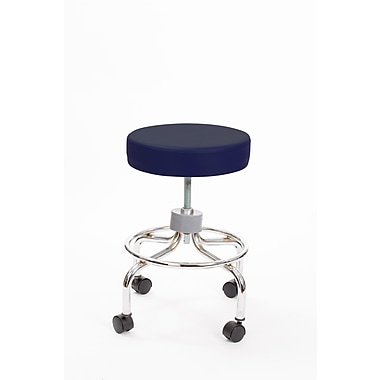 Brandt 22211 Revolving Stool with Footrest, Navy