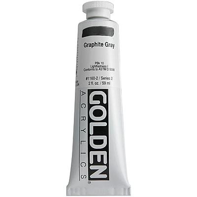 Pro-Art® Golden 2 oz. Heavy Body Acrylic Paint, Graphite Gray