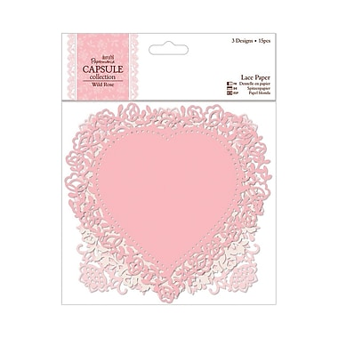 Docrafts® Papermania Die-Cut Lace Paper, 5 1/2