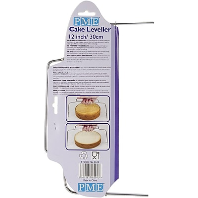 PME® Cake Leveller With Serrated Blade, 12