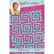 """Quilt In A Day """"Rabbit Hole Quilt"""" Book"""