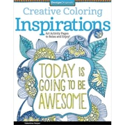 "Design Originals ""Creative Coloring Inspirations: Art Activity Pages to Relax and Enjoy!"" Adult Coloring Book"