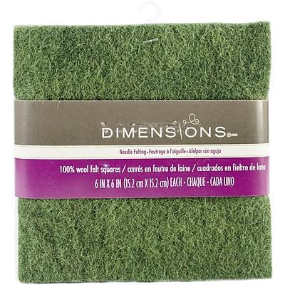 Dimensions Feltworks Felt Square Bundle, 6
