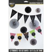 K&Company™ Chalk It Now™ Chalkboard Pennant Kit