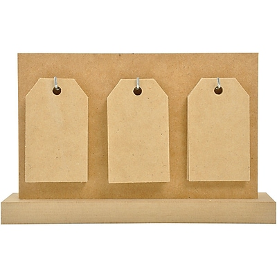 Kaisercraft Beyond The Page MDF Tag Calendar With 14 Tags, 5 1/2