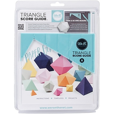 We R Memory Keepers™ Triangle Score Guide