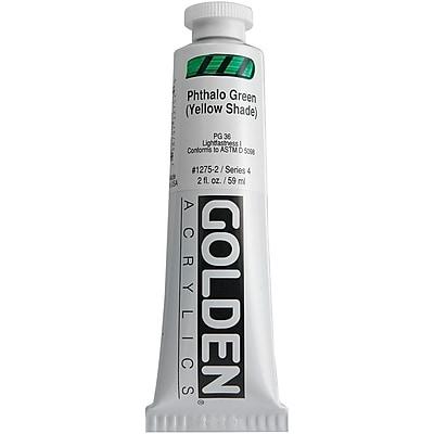 Pro-Art® Golden 2 oz. Heavy Body Acrylic Paint, Phthalo Green Yellow Shade