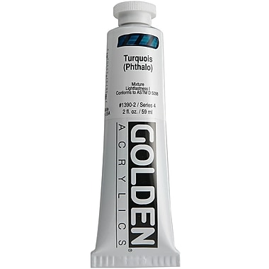 Pro-Art® Golden 2 oz. Heavy Body Acrylic Paint, Turquoise Phthalo