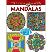 "Dover ""Creative Haven Mandalas"" Adult Coloring Book"