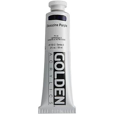 Pro-Art® Golden 2 oz. Heavy Body Acrylic Paint, Dioxazine Purple