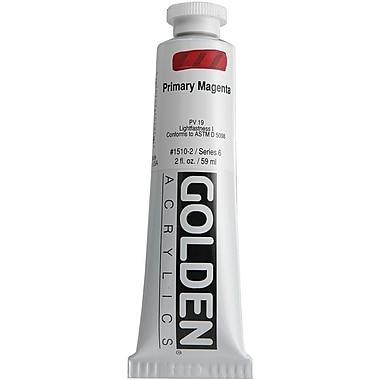 Pro-Art® Golden 2 oz. Heavy Body Acrylic Paint, Primary Magenta