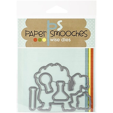 Paper Smooches Cuttlebug Die, Great Chem Icons