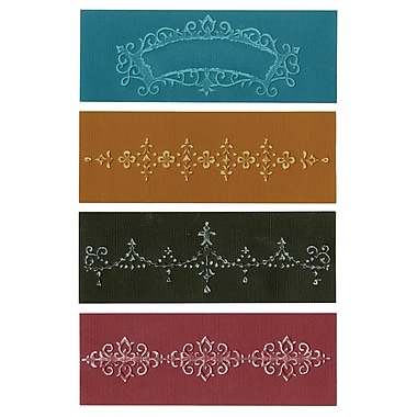 Sizzix® Textured Impressions A6 Embossing Folders, Chic Floral & Vines