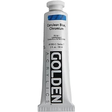 Pro-Art® Golden 2 oz. Heavy Body Acrylic Paint, Cerulean Blue Chromium
