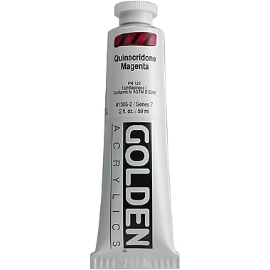 Pro-Art® Golden 2 oz. Heavy Body Acrylic Paint, Quinacridone Magenta