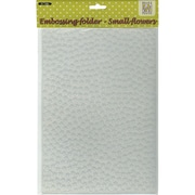 Ecstasy Crafts Nellie's Choice A4 Embossing Folder, Small Flowers