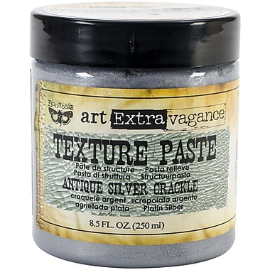 Prima Marketing™ 8.5 oz. Art Extravagance Texture Paste, Antique Silver Crackle
