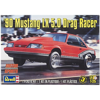 Revell® '90 Mustang LX 5.0 Drag Racer 1/25 Plastic Model Kit