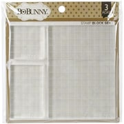 "Bo Bunny 2"" x 2"" Acrylic Stamp Block Set"