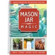 "CQ Products ""Mason Jar Magic: Crafts/Storage/Decor and More"" Cookbook"