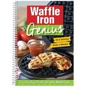 """CQ Products """"Waffle Iron Genius: Surprising Recipes For Your Waffle Iron"""" Cookbook"""