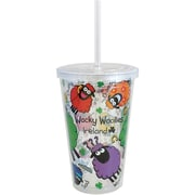 Dublin Gift Wacky Woollies Smoothie Cup, Assorted
