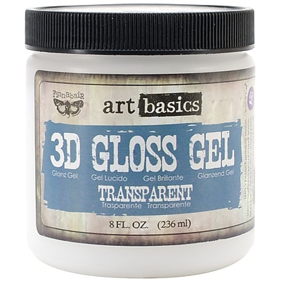 Prima Marketing™ 8 oz. Art Basics 3D Gloss Gel, Transparent