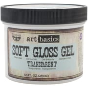 Prima Marketing™ 8.5 oz. Art Basics Soft Gloss Gel, Transparent