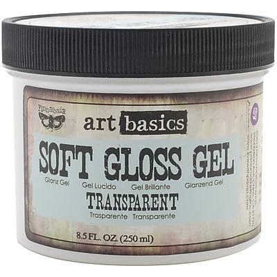 Prima Marketing™ 8.5 oz. Art Basics Soft Gloss Gel, Transparent
