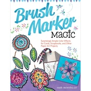 "Design Originals ""Brush Marker Magic: Surprisingly Simple Color Effects For Cards/Scrapbooks.."" Book"