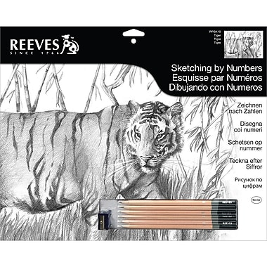 Reeves™ Sketching By Number Kit, 12