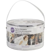 Wilton® Spring Loaded Pop Out Streamers, Silver
