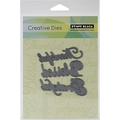 Penny Black® Creative Steel Die, Words Of Gratitude