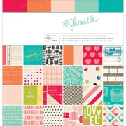 "American Crafts™ Paper Pad, 12"" x 12"", Shimelle"