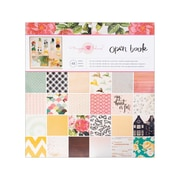 "American Crafts™ Crate Paper Paper Pad, 12"" x 12"", Maggie Holmes Open Book"