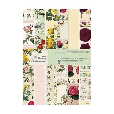 Docrafts® Papermania Botanicals Ultimate Die-Cut/Paper Pack, A4