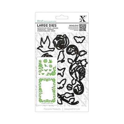 Docrafts® Xcut Decorative Large Die, Rose Flourish