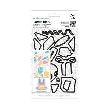 Docrafts® Xcut Decorative Large Die, Birthday Party