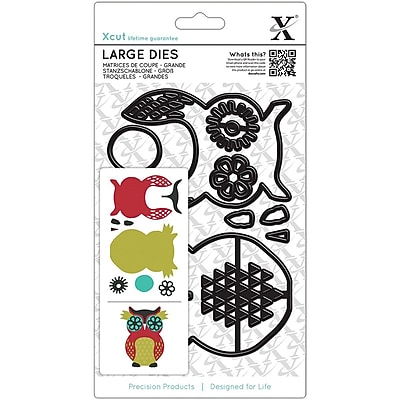 Docrafts® Xcut Decorative Large Die, Owl