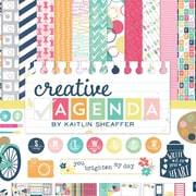 "Echo Park Paper Collection Kit, 12"" x 12"", Creative Agenda"