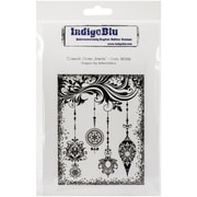 """IndigoBlu 5"""" x 8"""" Cling Mounted Stamp, Connors Crown Jewels"""