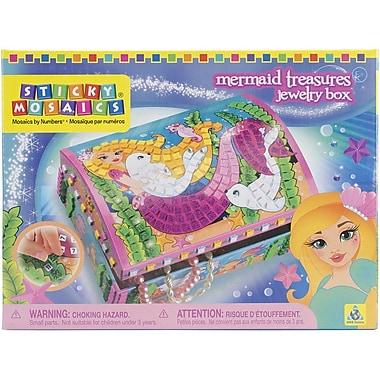ORB Factory™ Sticky Mosaics® Mermaid Treasures Jewellery Box Kit