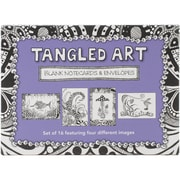 "Quayside Publishing ""Tangled Art Blank Cards & Envelopes"" Book"