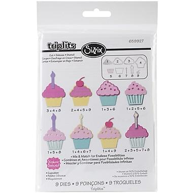 Sizzix® Triplits Die, Cupcakes