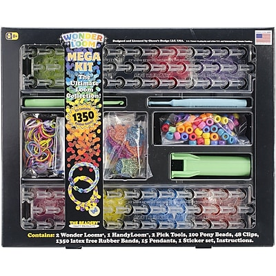 Beadery® The Ultimate Wonder Loom® Mega Kit