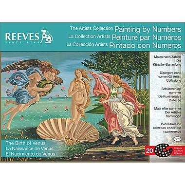 Reeves™ Artist's Collection Paint By Number Kit, 12