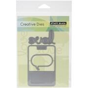 Penny Black® Creative Steel Die, Texting