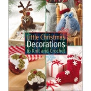 """Search Press """"Little Christmas Decorations to Knit & Crochet"""" Book"""